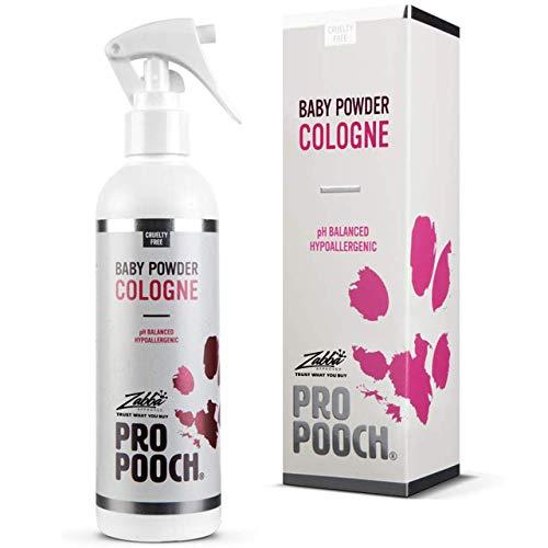 Pro Pooch Parfüm-Spray für Hunde, 250 ml Duft: Babypuder.