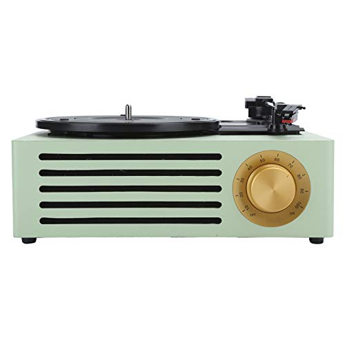 Sutinna Vinyl Record Player, 33/45/78 RPM Turntable Antique Phonograph Turntable Record Vinyl Audio RCA R/L 3.5Mm Output Output USB DC 5V Record Player