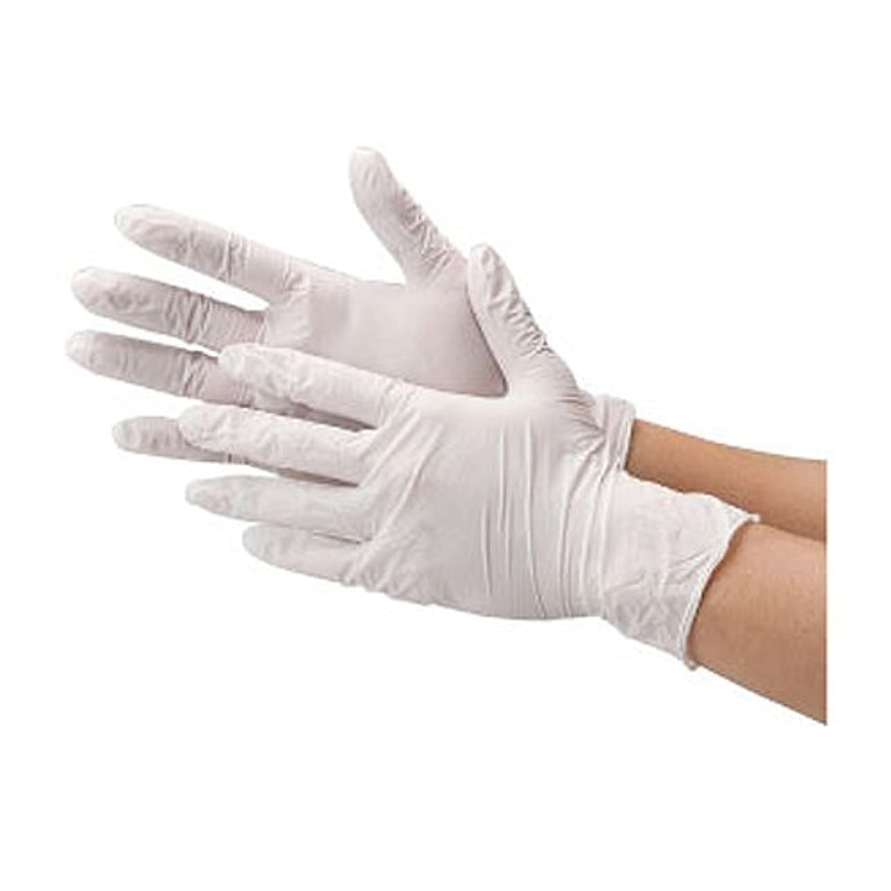 脆い学校の先生幾分川西工業 ニトリル 使いきり手袋 ストロング 粉無 100枚入り 2037 ホワイトS