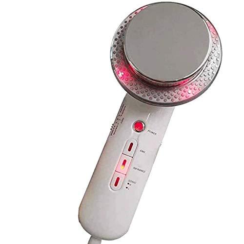 Grote Haai Ultrasone Machine Drie-in-één Beauty Instrument Ultrasone Afslanken Infrarood Hyperthermie Micro-Huidige EMS Verstevigende Huid LED Vormen