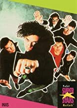InXS trading card (Australian Rock Band) 1991 Proset Super Stars Musicards UK #62