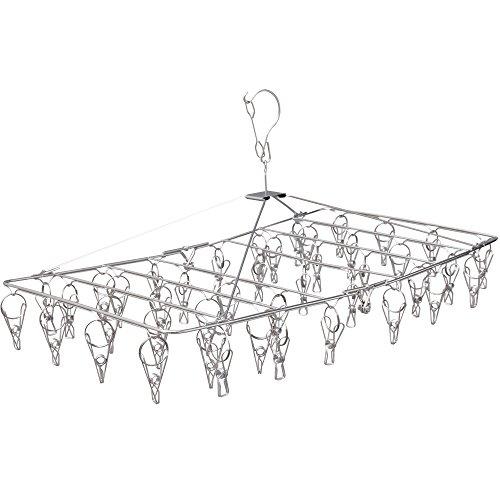 アイリスオーヤマ ピンチハンガー 洗濯ハンガー 洗濯 物干し 42ピンチ ステンレス サビにくい ラクラク回転式 PIH-42S