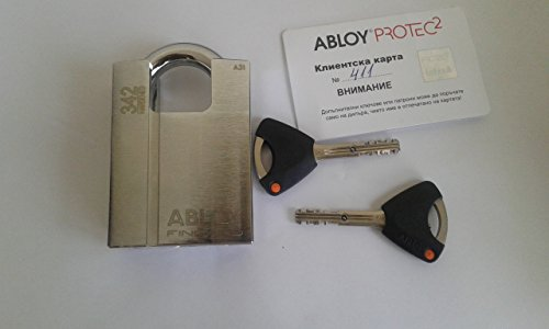 Abloy PL 342T PROTEC2 Shrouded High Security Steel Padlock