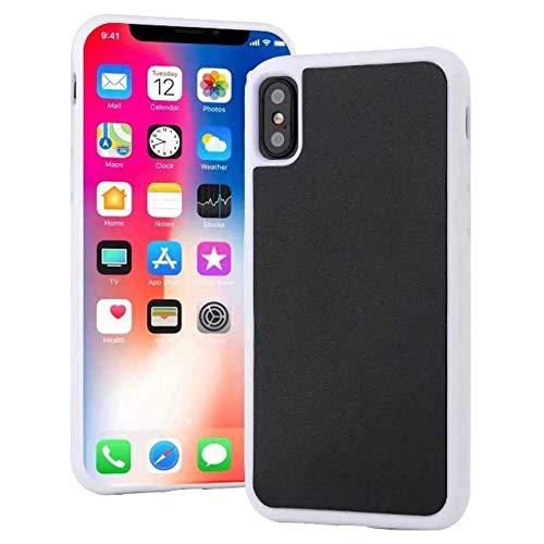 Pluto AntiGravity per iPhone XS Max 6 7 8 Plus 11 Pro Max SE Guscio di adsorbimento magico nano magico, custodia in silicone morbido, protezione completa a 360 gradi