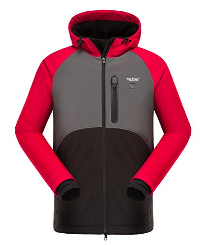 Heated Jacket for Women, Heating Hoodie Coat - Breathable Thermal Liner Heated by Portable Battery - for Climbing, Skiing, Hunting, Hiking, Riding, Outwork Heated Jacket