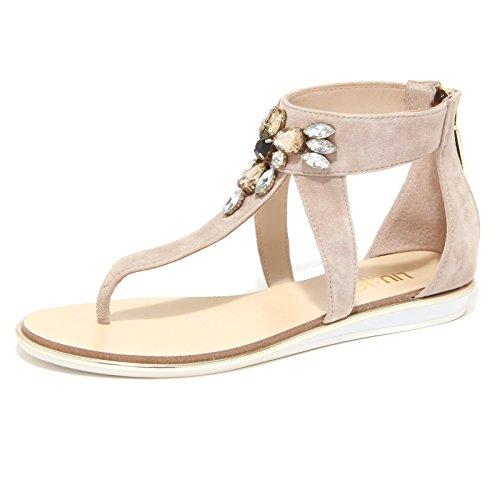Sandalo Infradito Liu Jo FLET Nico Beige Sandalo Donna Sandal Woman [35]