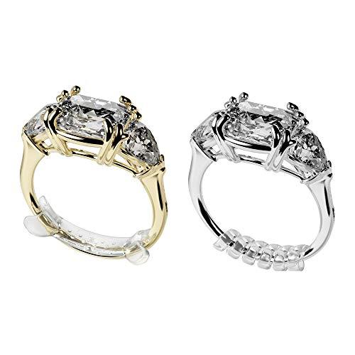 Ringo - Paquete de 10 adaptadores de talla para anillos Mate