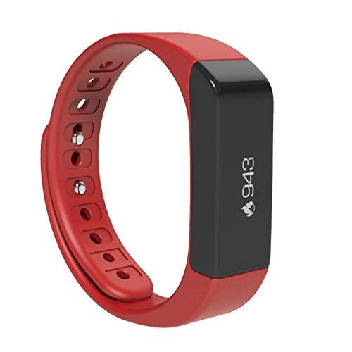 ZLOPV Fitness Armband Wasserdichtes i5 Plus Armband-Monitor-Sport-Eignung der intelligenten Uhr Bluetooths 4.0, die das Manschetten erinnert an intelligente Uhr aufspürt