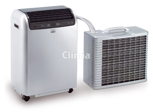 Remko RKL 491DC - Aire acondicionado móvil para una habitación, de 120m3, Potencia de refrigeración 4,3kW, color plateado (Ref. 1615491)