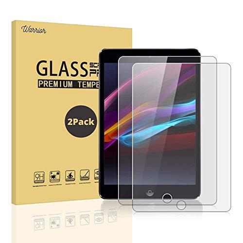 (2 unidades) Protector de pantalla para iPad (10.2 pulgadas, modelo 2020/2019, 8ª/7ª generación) | Protección inastillable vidrio templado