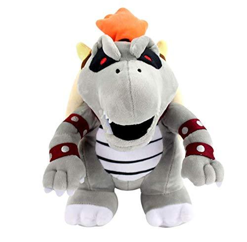 N/T Super Mario Bros 3D Land Bone Koopa Dragon Dark Bowser Lemmy Morton Roy Wendy Peluches Peluches Muñecas Regalos para Niños 24Cm