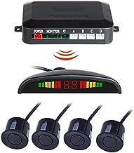 $63 » AISHFP Wireless Reversing Radar, Car Parking Reversing Buzzer Auto Parking Kit Parking Sensors Automatic Wireless Alarm As...
