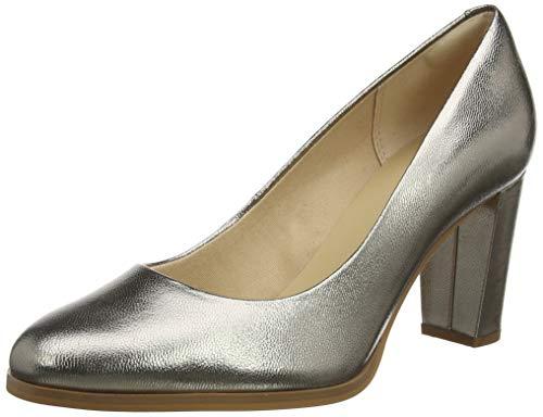 Clarks Kaylin Cara, Zapatos de Tacón Mujer, Gris (Stone Stone), 40 EU (Zapatos)
