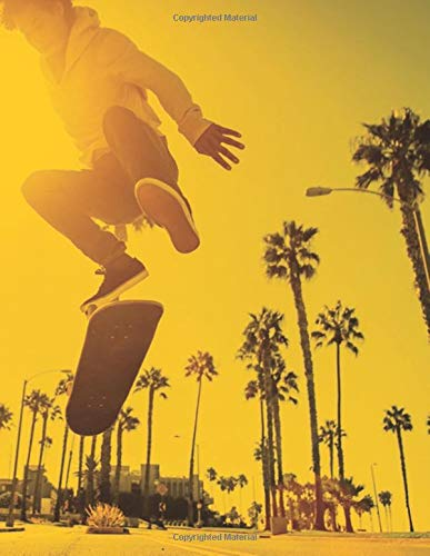STREET SKATER JOURNAL: Composition journal / notebook to write in and record your thoughts.