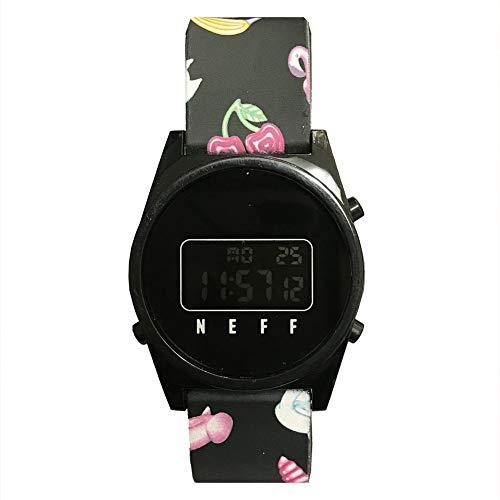 Neff Unisex Stripe Watch Black