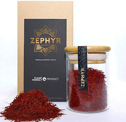 Zephyr zafferano in pistilli interi, confezione da 10 grammi
