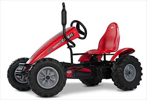 Berg Gokart mit XL-Frame Case IH | Kinderfahrzeug, Tretauto mit Verstellbarer Sitz, Mit Freilauf, Kinderspielzeug geeignet für Kinder im Alter ab 5 Jahren