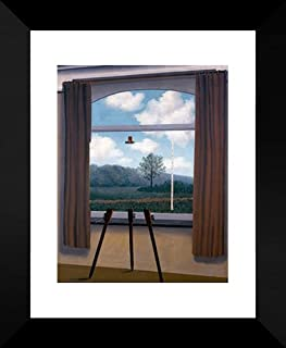 The Human Condition 20x24 Framed Art Print by Magritte, Rene