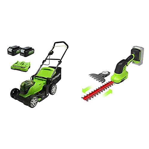 Greenworks Akku-Rasenmäher+Tools 24V...