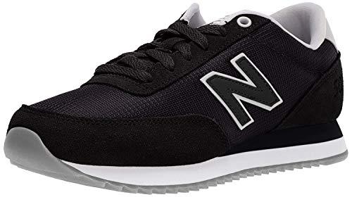 New Balance Women's 501v1 Lifestyle Sneaker, Black, 7 B US