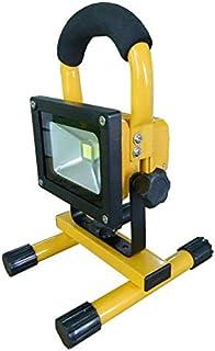 10W Portable LED Work Flood Light Cordless Rechargeable IP65 12v LED Light Hand Lamp
