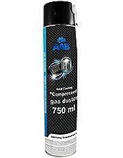 AAB PC Spray Limpiador 750ml para Limpiar Teclados, Ordenadores, Copiadoras, Cámaras, Impresoras y Otros Equipos Eléctricos, Duster, Eliminación de Polvo, Aire Comprimido, Botella, Soplador