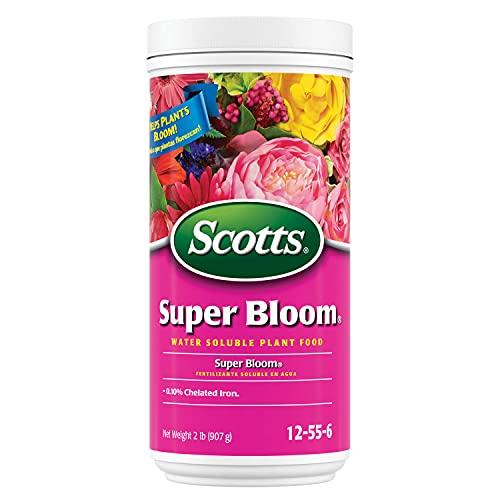 Scotts super bloom water soluble plant food, 2 lb - npk 12-55-6 -...