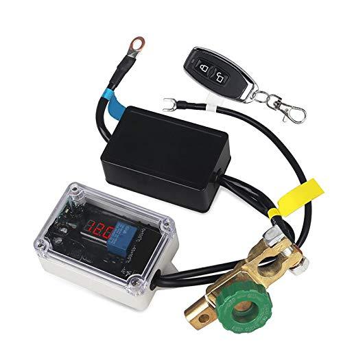 Mota Cortador de batería Interruptor eléctrico Compatible con coche Control remoto automático...