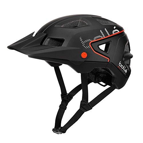 bollé Erwachsene Trackdown Cycling Helme, Black, 58-62 cm