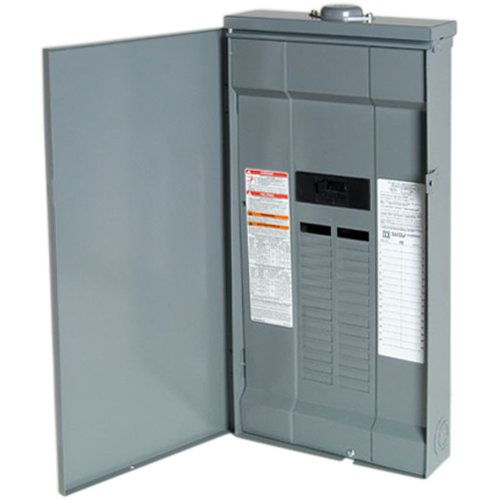 Square D by Schneider Electric QO130M150PRB QO Plug-On Neutral 150 Amp Main Breaker 30-Space 30-Circuit Outdoor Load Center