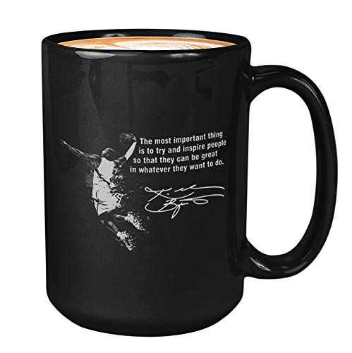 Athlete Coffee Mug - Kobes Quote The Most Important - Los Angeles Bry-Ant Kobes Basketball Team Player Sports 8 24 Fan Mvp Legends R-I-P