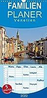 Venetien - Familienplaner hoch (Wandkalender 2022 , 21 cm x 45 cm, hoch): Venetien - das ist mehr als nur Venedig. Entdecken Sie mit diesen Bildern alte Staedte und Burgen in Norditalien. (Monatskalender, 14 Seiten )