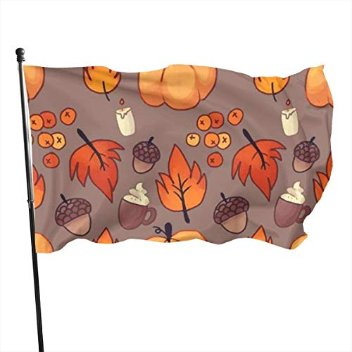 Flagge Dekorative Hausflaggen Thanksgiving Wallpaper for iPhone 3 Garden Flag Yard Home Decor Durable and Fade Resistant 3x5 Ft Decor Banner