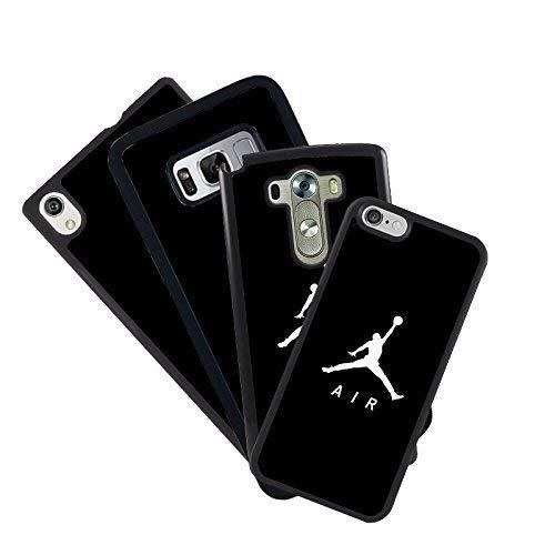 zoilastore Hülle Tasche Handy für Alle die Mobile mit Dein Design Foto Jordan Air Basketball Basket Gehäuse Hinten Schutz- Hülle Anti-rutsch Gel- TPU - Samsung Galaxy S7 Edge