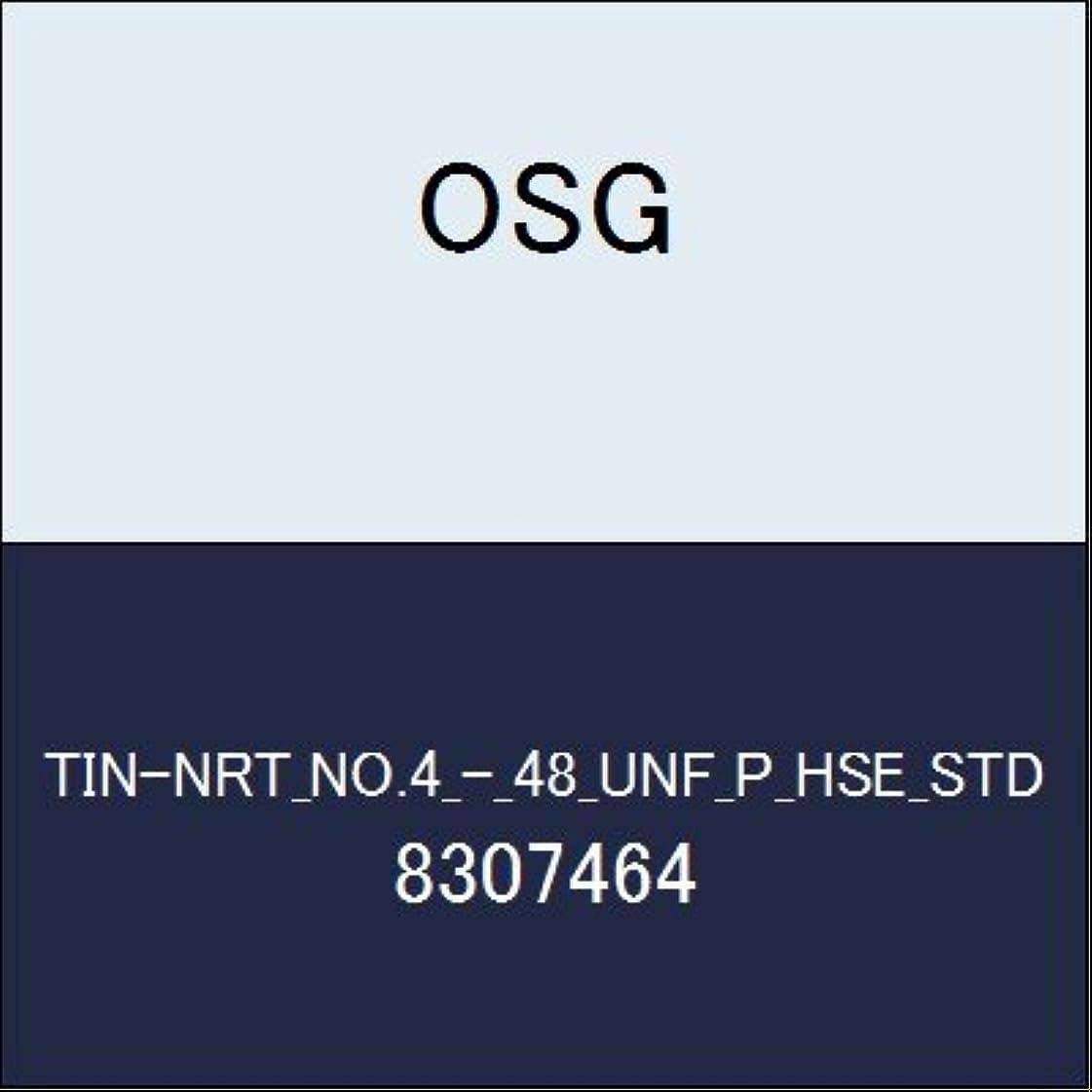 霊ベールエラーOSG ハイス溝ナシタップ TIN-NRT_NO.4_-_48_UNF_P_HSE_STD 商品番号 8307464
