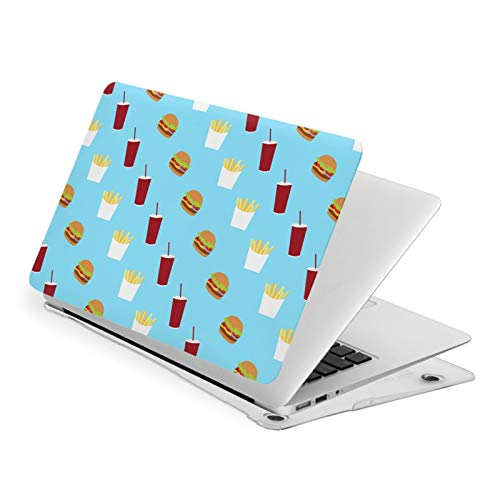 MacBook Pro 13 Inch Case French Fry Burger Icecream Hard Laptop Shell Case Cute Protective Laptop Cover