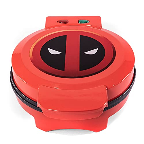 Marvel's Deadpool Waffle Maker - Merc With a Mouth on Your Waffles- Waffle Iron