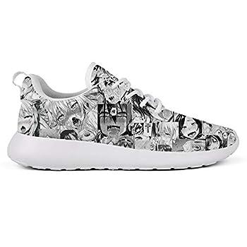 WXMDZS Men s Cushioning Running Shoe Lightweight Lace Up Casual Sneakers Non-Slip Walking Shoes