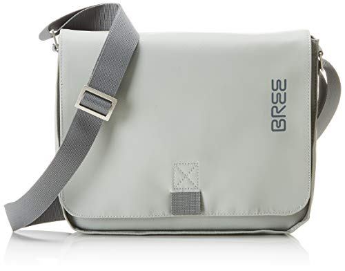 BREE Collection Unisex-Erwachsene Punch 61, Shoul. Bag S19 Schultertasche, Grün (Belgian Block), 6x21x26 cm