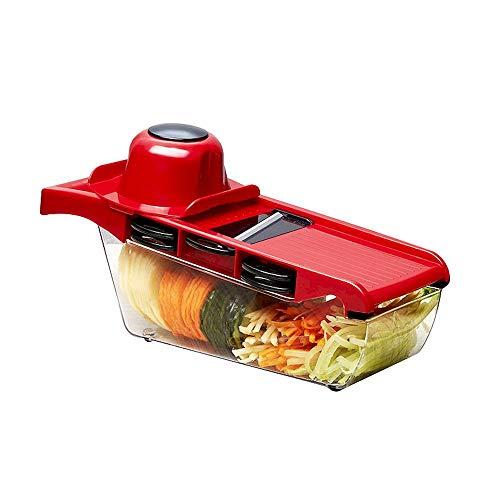 Caja giratoria para condimentos tridimensionales para cocina con salero y utensilios de cocina