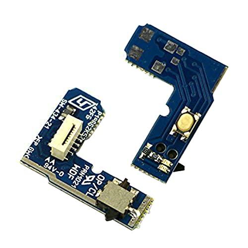 Interruptor de encendido y apagado de placa de reinicio compatible con PS2 70000 Slim & lite pieza de repuesto Power On Off placa de circuito compatible con PS2 70000