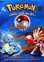 Pokemon Trading Card Game Basic Original Theme Deck BLACK OUT