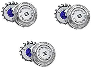 Easy Seller SH30 Replacement Heads compatible with Philips Norelco Series 1000, 2000, 3000 Shavers