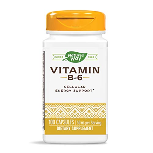 Nature's Way - vitamina B6 100 mg. - 100 capsule