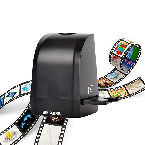 Eyoyo Scanner Film per pellicole portatile sensore CMOS da 8 mega Converti diapositive e pellicole negative in foto digitali Supporta MAC/Windows XP/Vista / 7/8/10