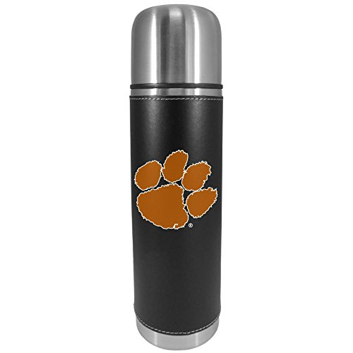 NCAA Siskiyou Sports Fan Shop Clemson Tigers Graphics Thermos 26 ounce Black