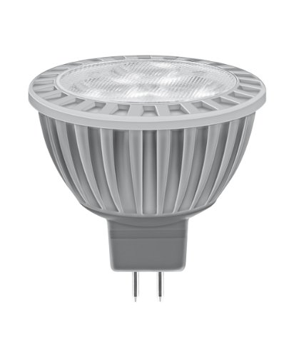 Osram LED Star MR16 3W entspricht 20 W, Sockel Gu5,3, 12 Volt, Reflektorlampenform, 50 mm, 24°, 450 cd, extra warmton (827) 991829