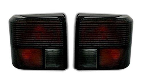 Helder glas achterlichten set bestuurders- en passagierszijde links + rechts zwart helder glas