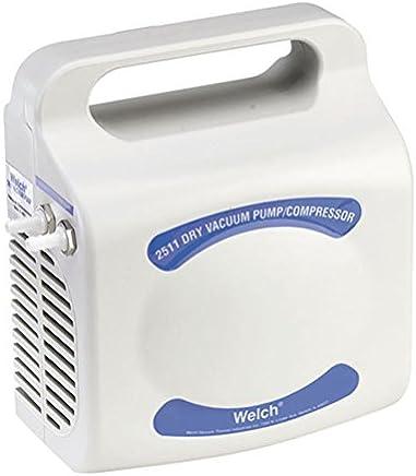 Welch Vacuum 2511B-01 Utility Vacuum Pump, 11 LPM, 219 Torr, 115V