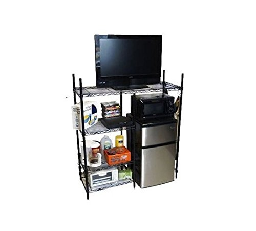 Suprima Adjustable Shelving - The Shelf Supreme - Black